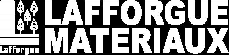 Logo Lafforgue Matériaux blanc