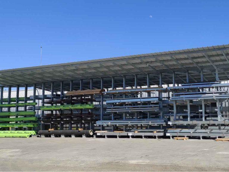 Lafforgue Matériaux - Agence de Toulouse Sud - Rack de rangement pour ossature métallique et fournitures de travaux publics